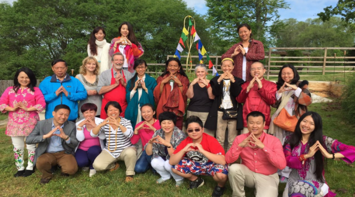 A Chinese Yoga Delegation